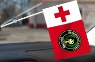 Флажок Военной Медицинской службы России в машину