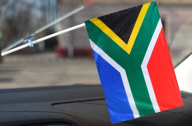 Флажок ЮАР в машину