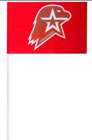 Флажок Юнармии   Заказать флажки на палочке