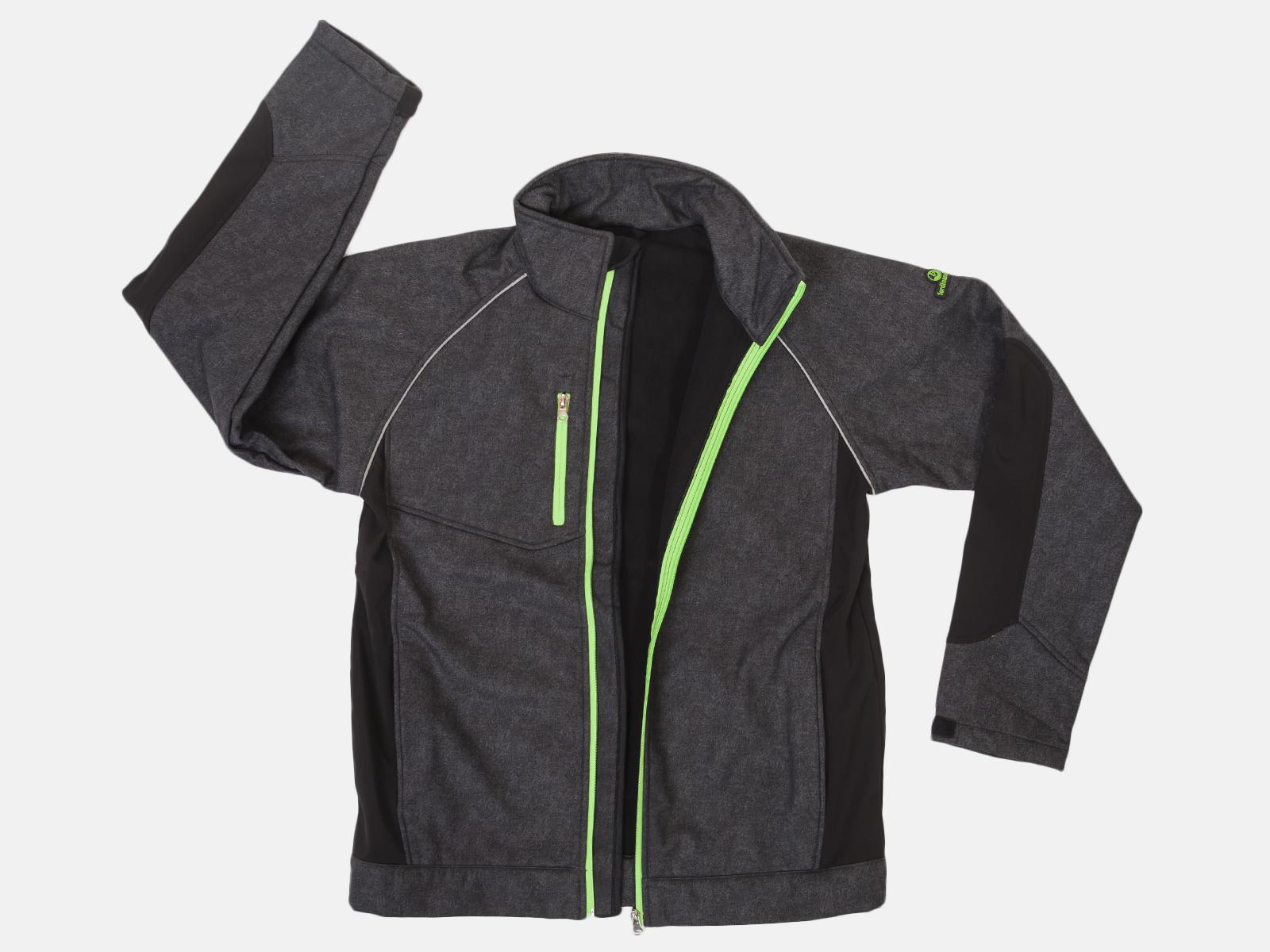 Флисовая мужская куртка-толстовка
