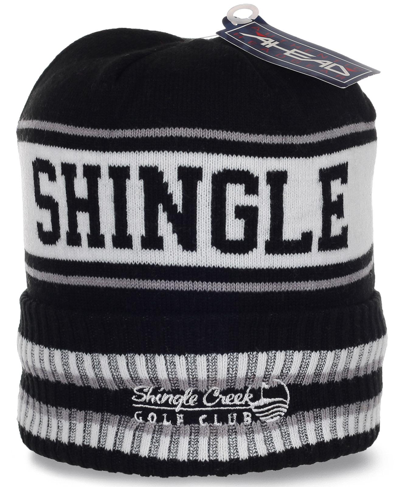 Флисовая шапка с эмблемой гольф-клуба Shingle Creek