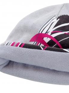 Флисовая спортивная шапка - отворот изнанки