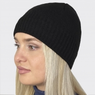 Флисовая женская шапочка