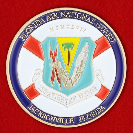 Florida Air National Guard Challenge Coin
