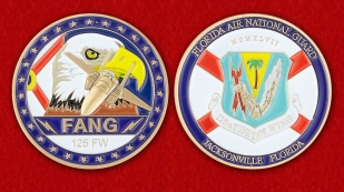 Florida Air National Guard Challenge Coin - obverse and reverse
