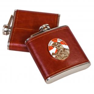 Подарочная фляга с жетоном ВНУТРЕННИЕ ВОЙСКА.