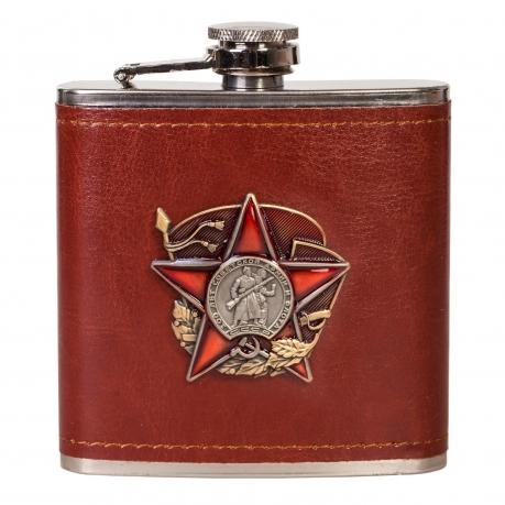 Сувенирно-подарочная фляжка 100 лет Советской Армии и Флота.