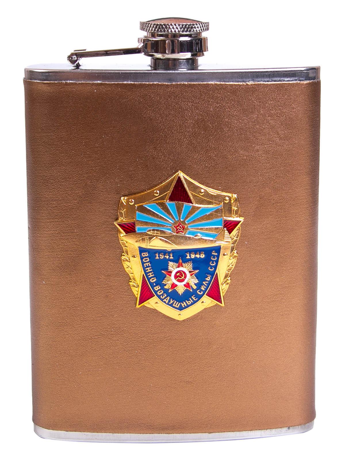 """Фляжка для алкоголя """"Военно-воздушные силы СССР"""""""