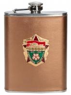 Фляжка для спиртных напитков в подарок ветерану