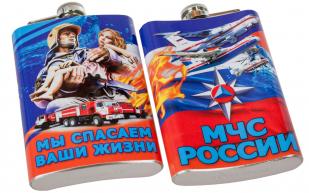 """Фляжка """"МЧС России"""" купить оптом"""