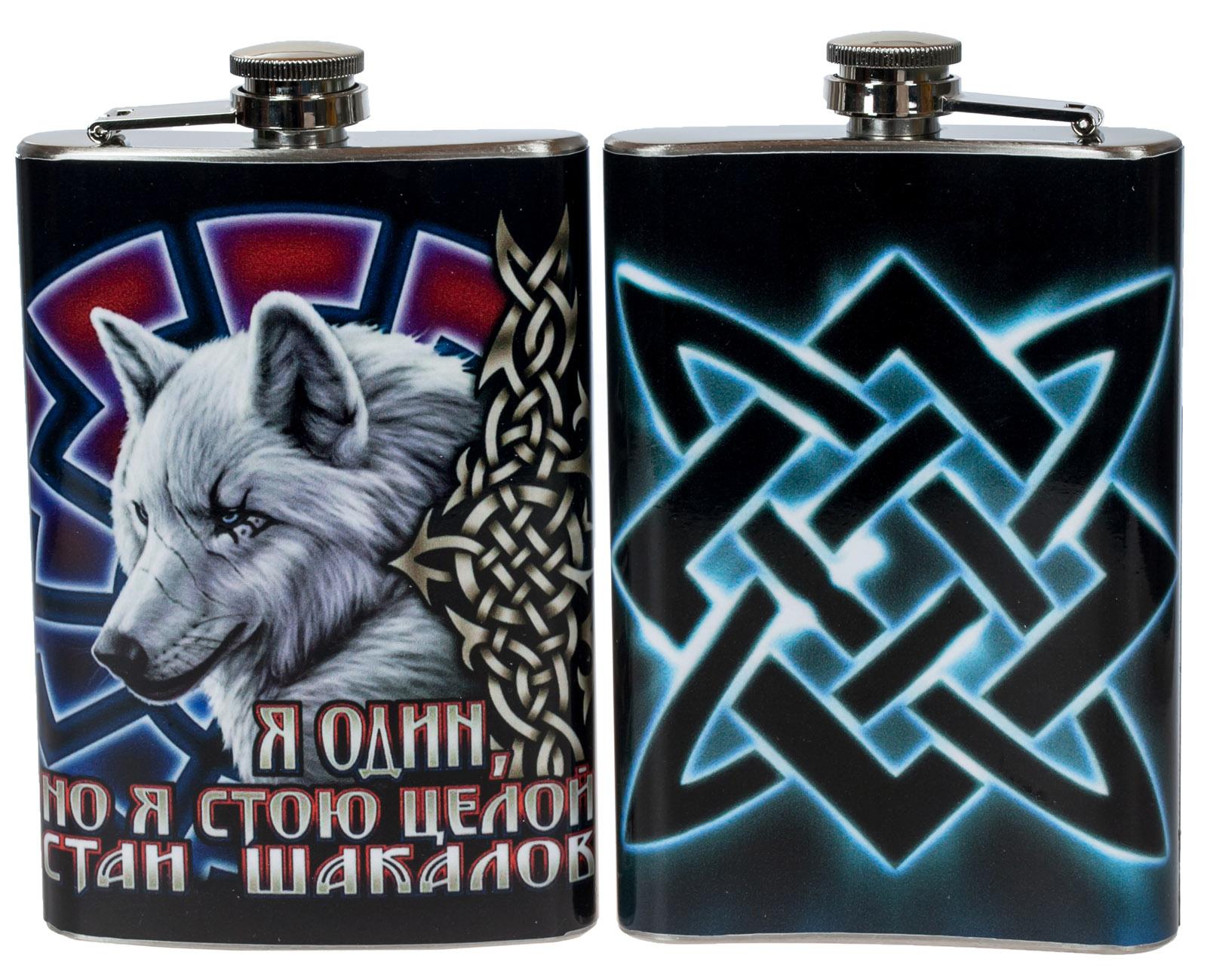 Фляжка «Одинокий волк» заказать онлайн