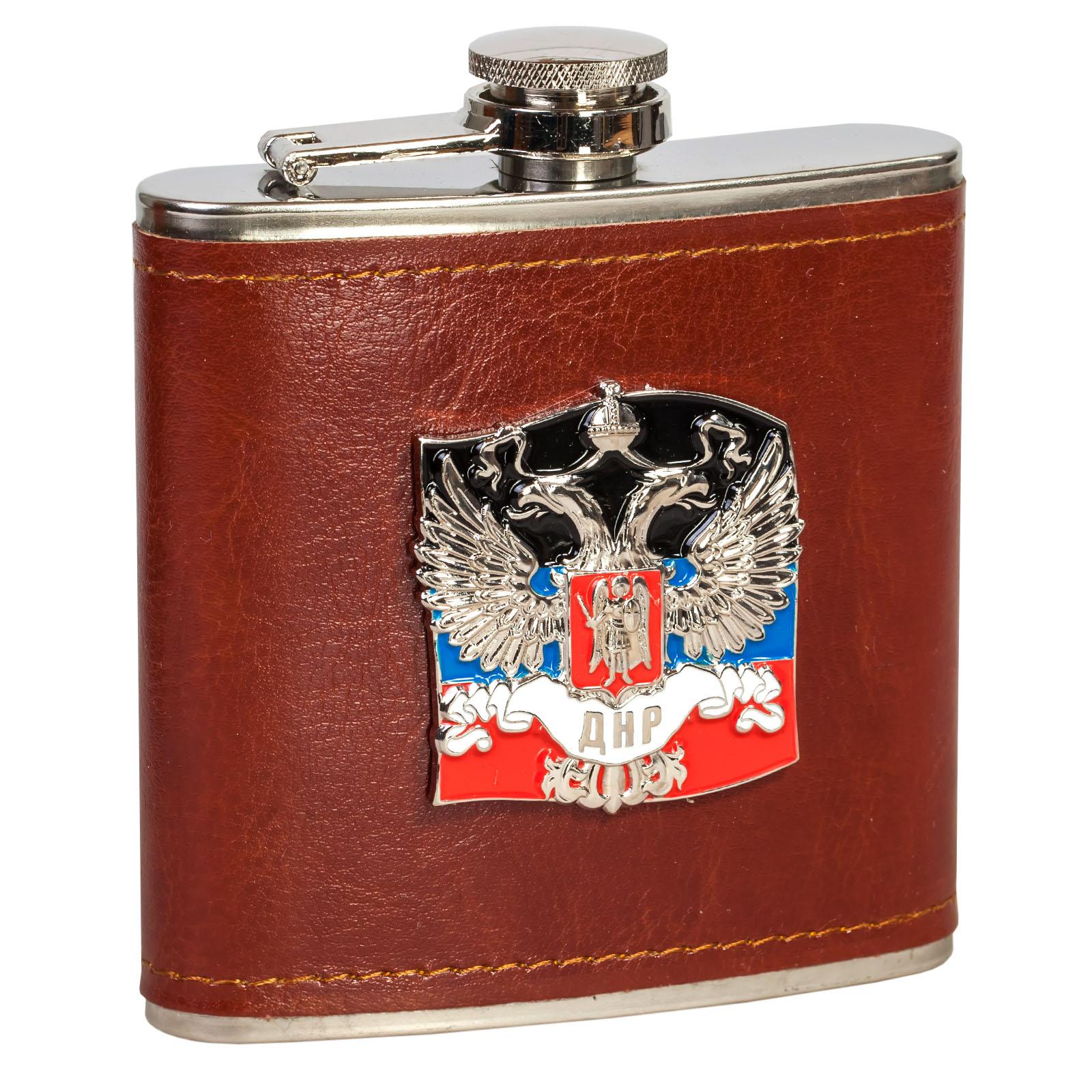 Сувениры и подарки в дизайне ДНР: фляжки, награды, флаги и другие товары