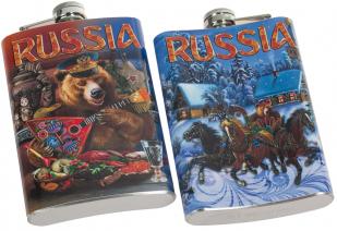 """Фляжка """"Русский медведь"""" купить онлайн"""