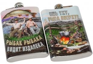 Фляжка рыбака с Путиным купить с доставкой