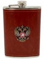 Фляжка с гербом РФ