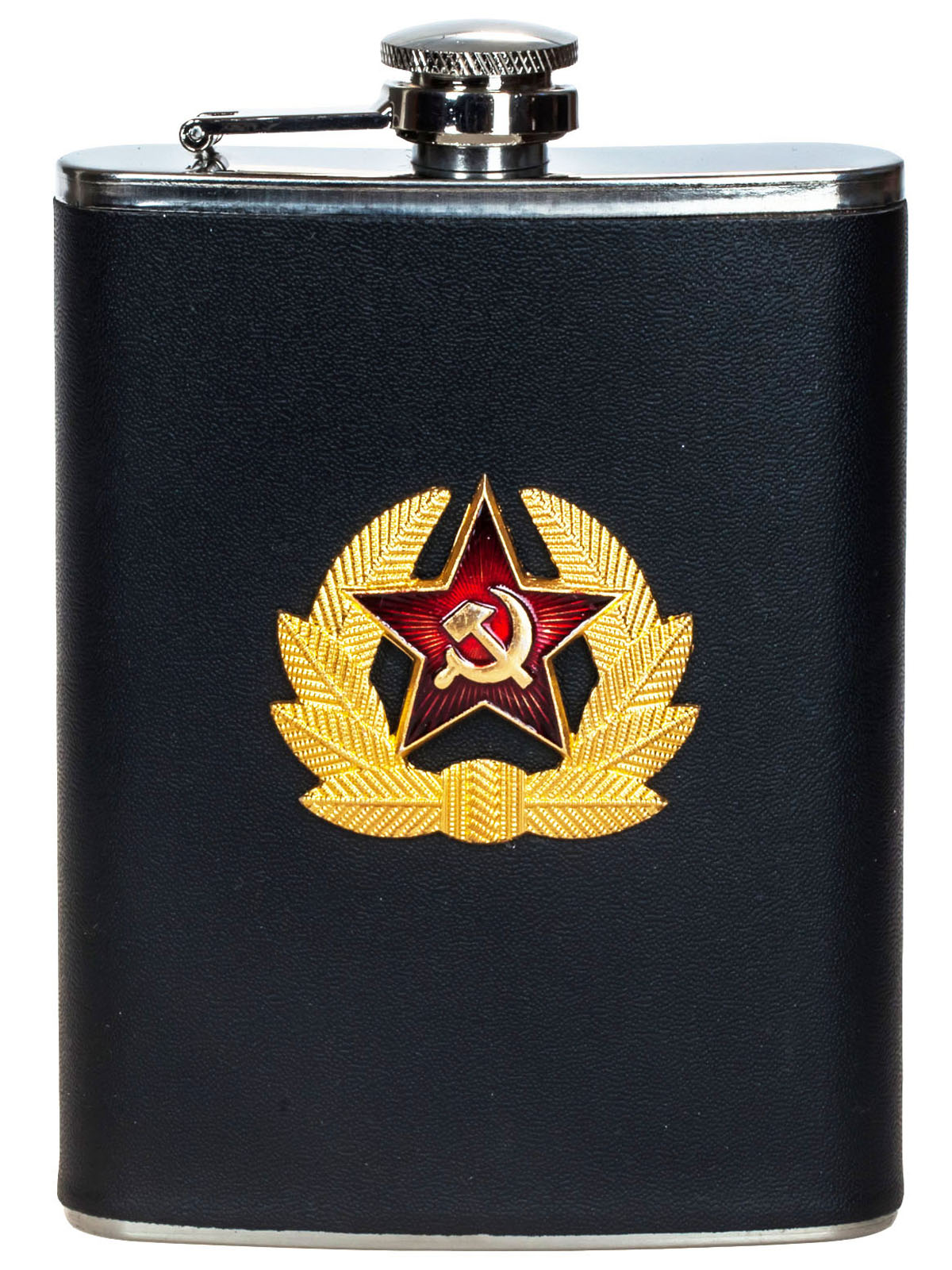 Советская фляга в коже – продажа оптом и в розницу