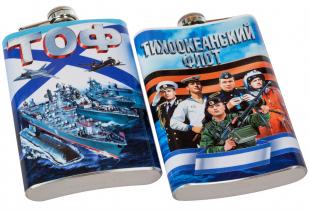 Фляжка ТОФ ВМФ России оптом и в розницу от Военпро