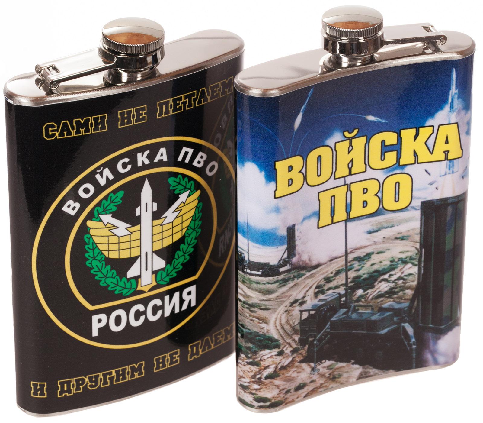 """Купить фляжку """"Войска ПВО"""" оптом и в розницу"""