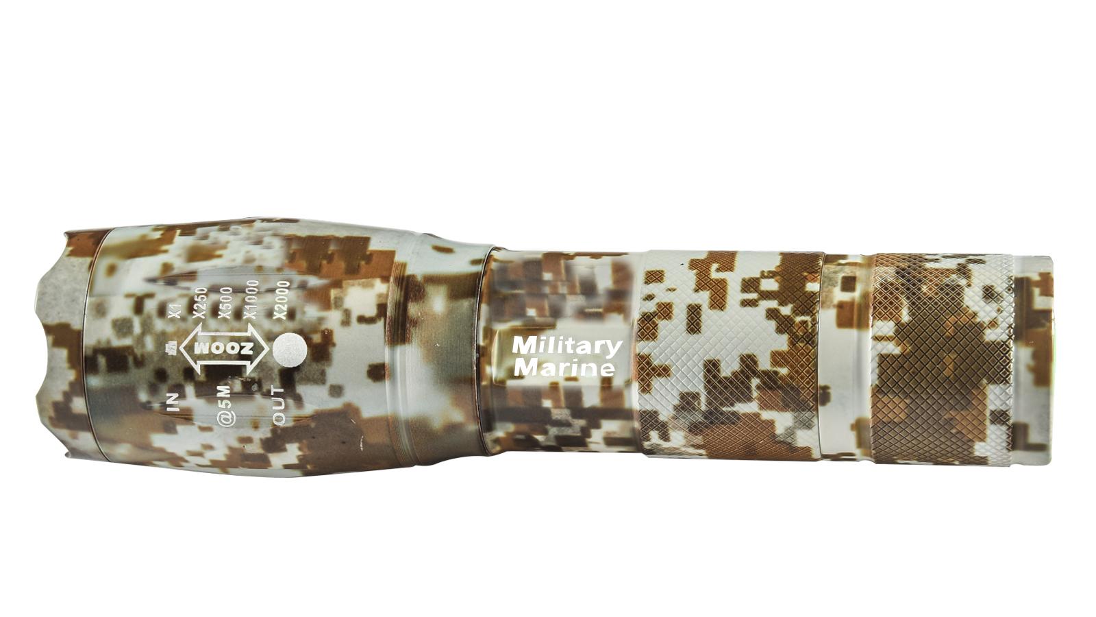 Фонарик выживания Military Marine 8000Lm T6