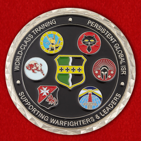 For Exellence Presented by the 9th Operations Group Commander Challenge Coin