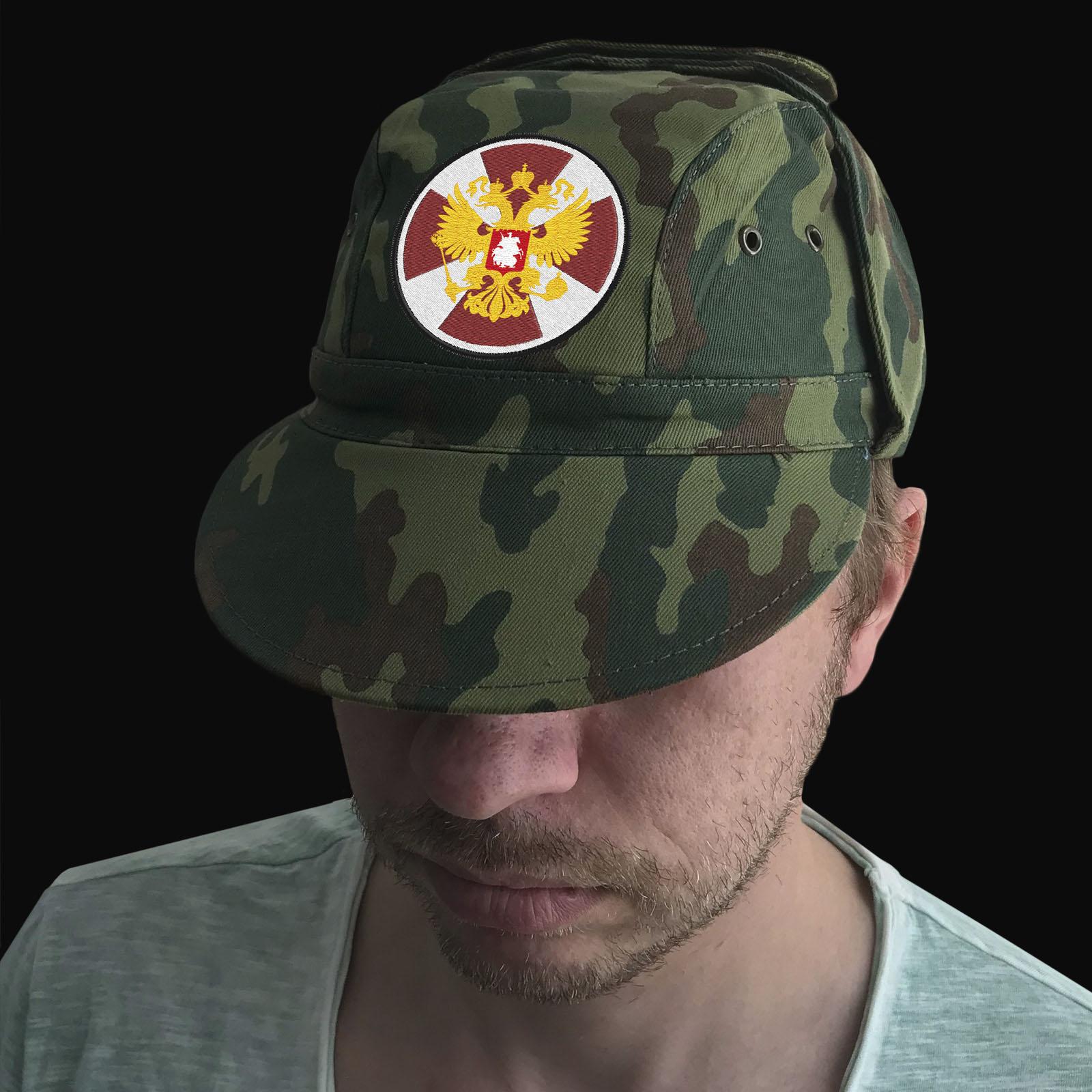 Форменная кепка с эмблемой Внутренних Войск России