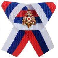 Фрачник МЧС на ленточке российского триколора