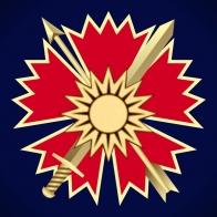Фрачник с малой эмблемой разведывательного батальона ОсНаз ГРУ