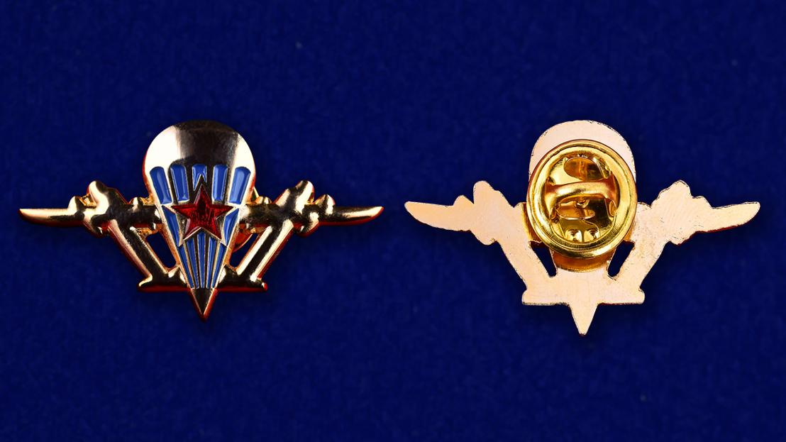 Эмблема ВДВ из металла  - аверс и реверс