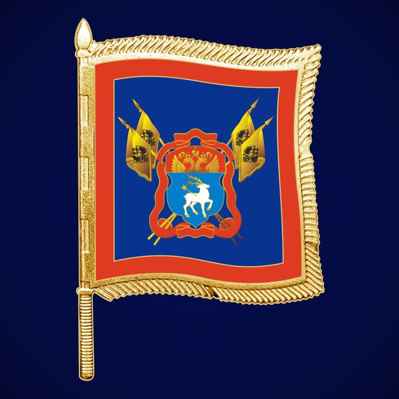 Фрачный значок казака Донского войска