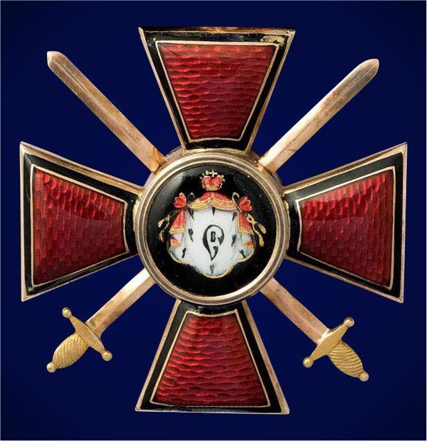 Фрачный знак ордена Св. Владимира IV степени