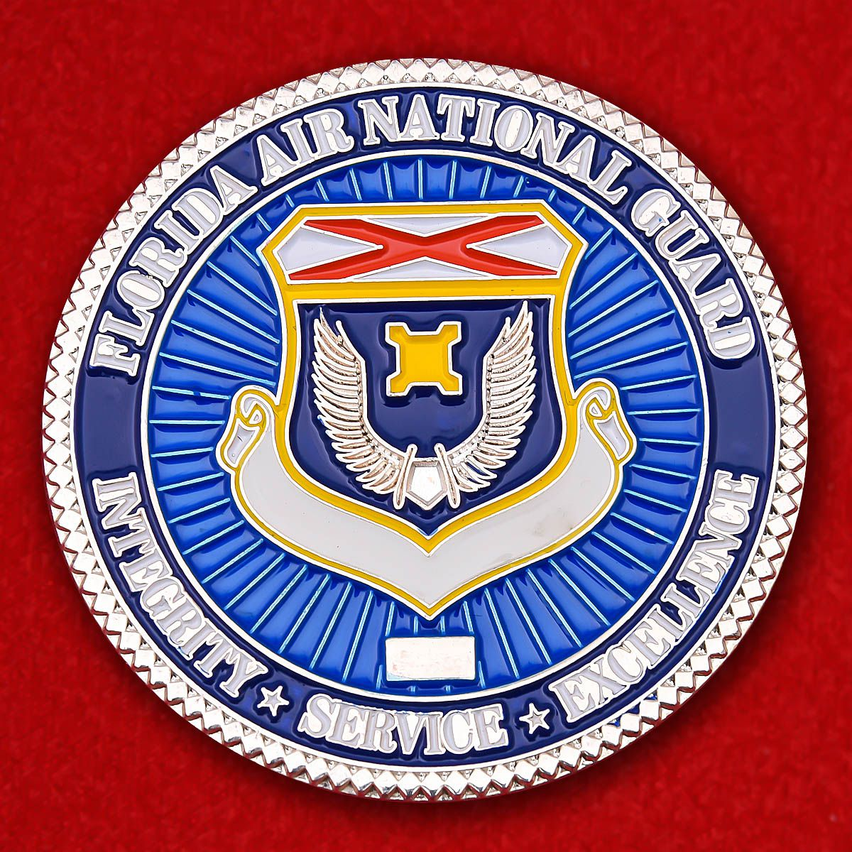 From Master Sergeant Florida Air National Guard Challenge Coin