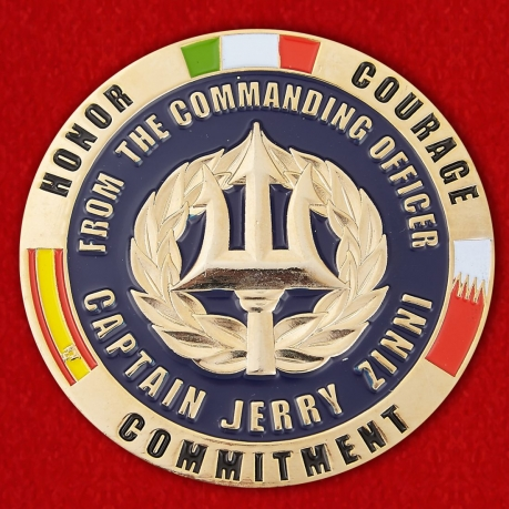 From the Commanding Officer Captain Jerry Zinni FDRMC Challenge Coin