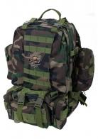 Функциональны камуфляжный рюкзак с нашивкой Рыболовных войск