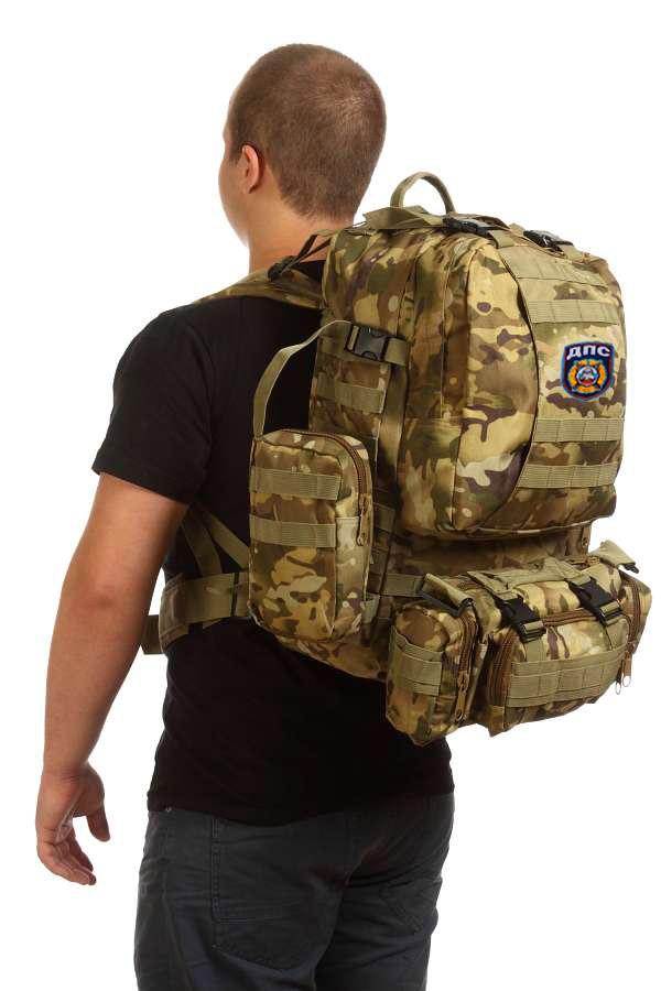 Функциональный армейский рюкзак с нашивкой ДПС - купить с доставкой