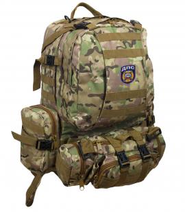 Функциональный армейский рюкзак с нашивкой ДПС - купить в подарок