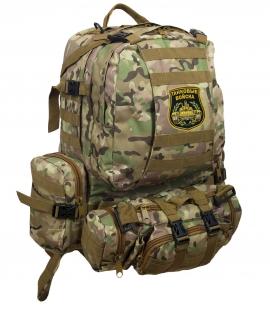 Функциональный армейский рюкзак с нашивкой Танковые Войска - заказать оптом