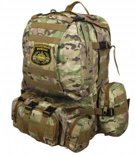 Функциональный армейский рюкзак с нашивкой Танковые Войска - заказать в розницу