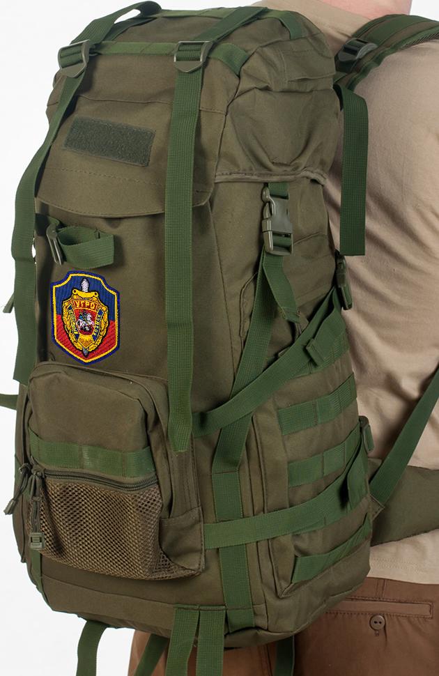 Функциональный армейский рюкзак с нашивкой УГРО - заказать выгодно