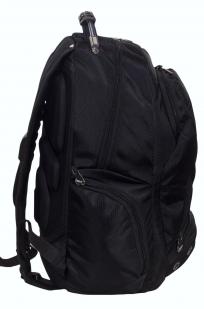 Заказать функциональный черный рюкзак с шевроном ВМФ