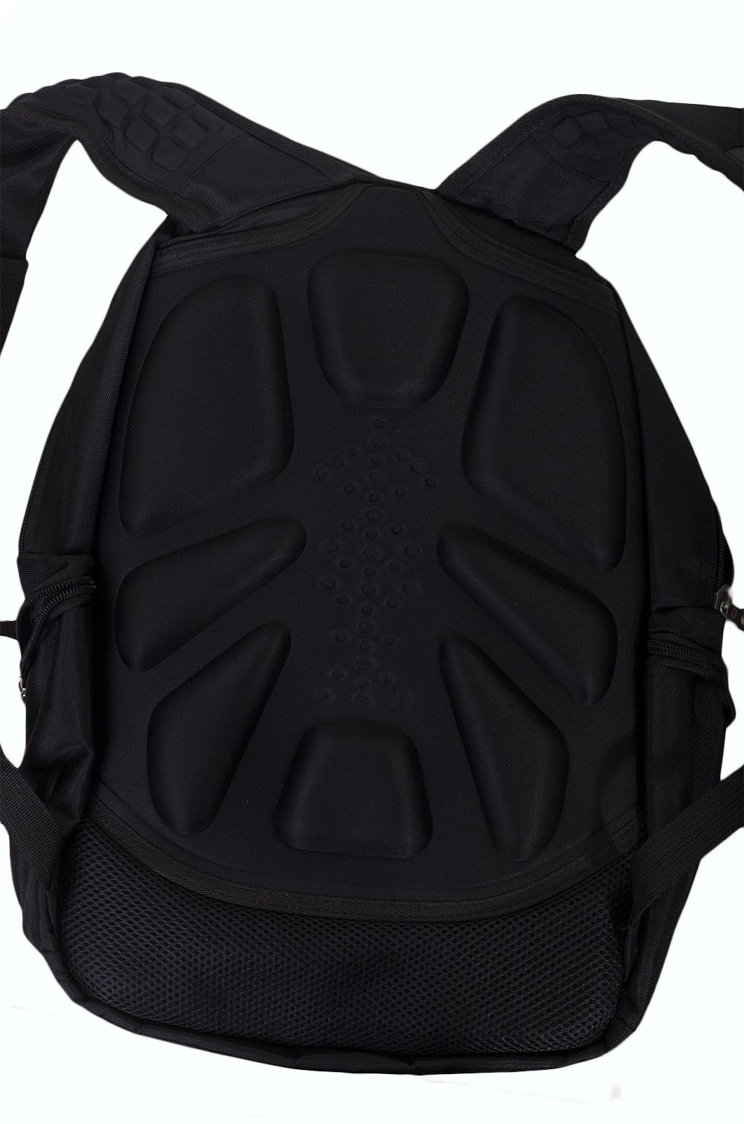 Функциональный черный рюкзак с шевроном ВМФ купить в подарок
