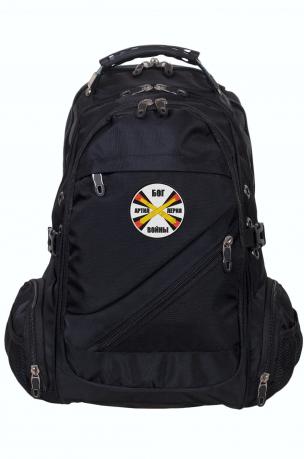 Функциональный городской рюкзак с нашивкой РВиА