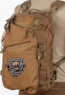 Функциональный крутой рюкзак с нашивкой Рыболовный Спецназ