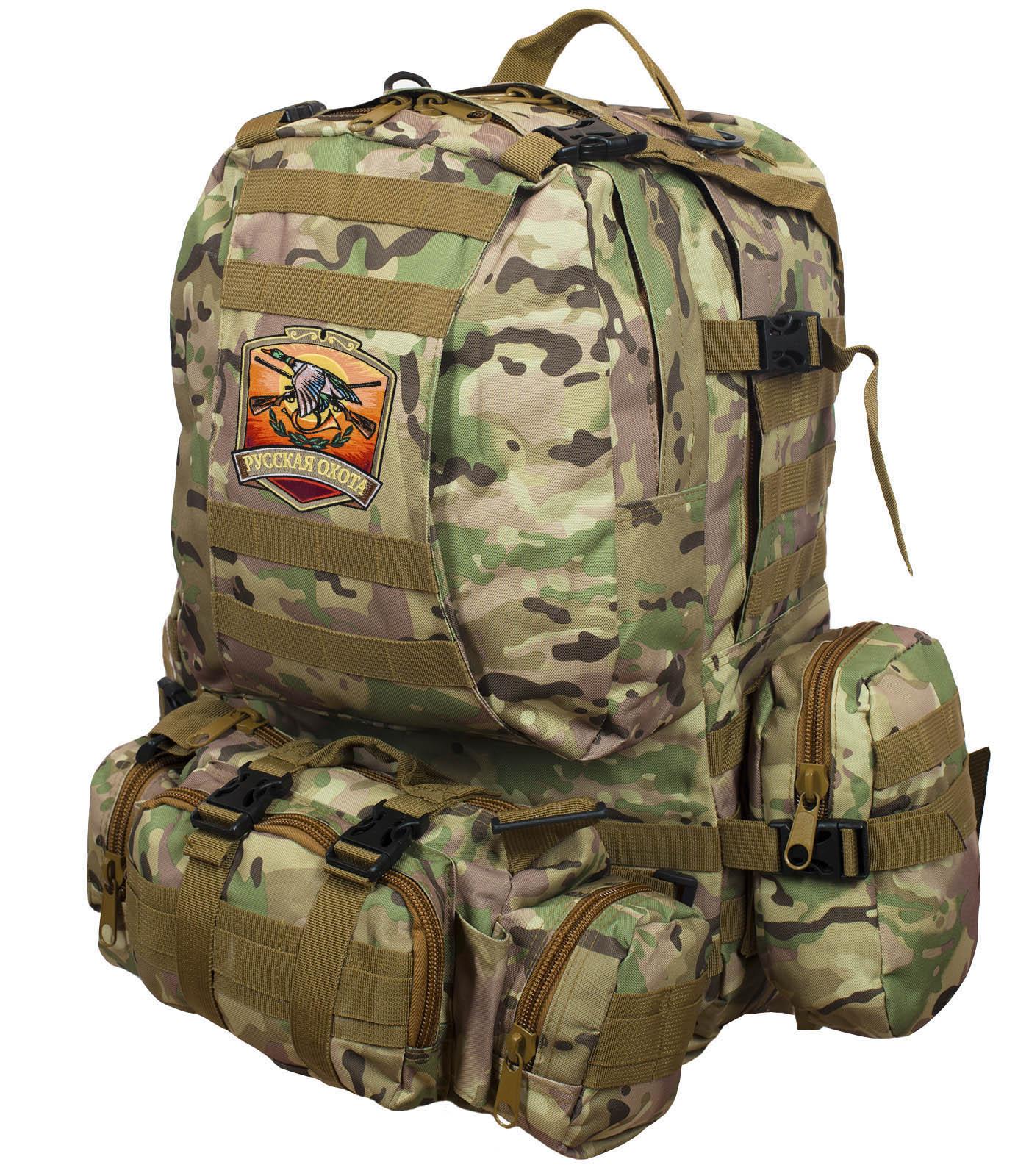 Функциональный охотничий рюкзак Русская Охота от ТМ US Assault - купить в Военпро