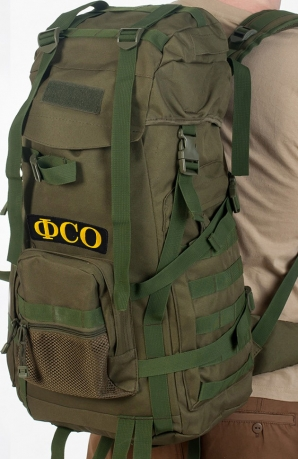Функциональный рейдовый рюкзак с нашивкой ФСО - купить выгодно