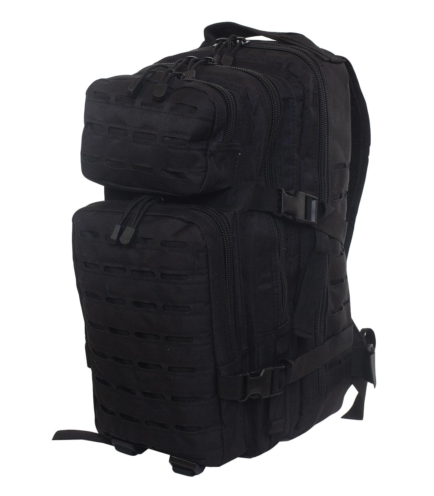 Функциональный рюкзак черного цвета