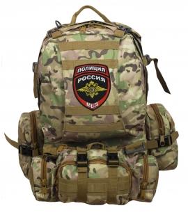 Функциональный тактический рюкзак с нашивкой Полиция России - заказать выгодно