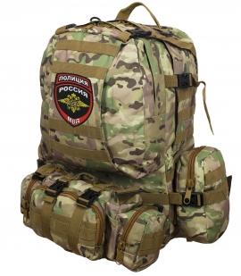 Функциональный тактический рюкзак с нашивкой Полиция России -заказать в подарок