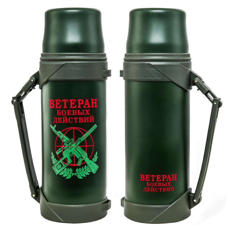 Функциональный термос ветерану боевых действий