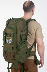 Функциональный военный рюкзак с нашивкой ФСО - купить с доставкой