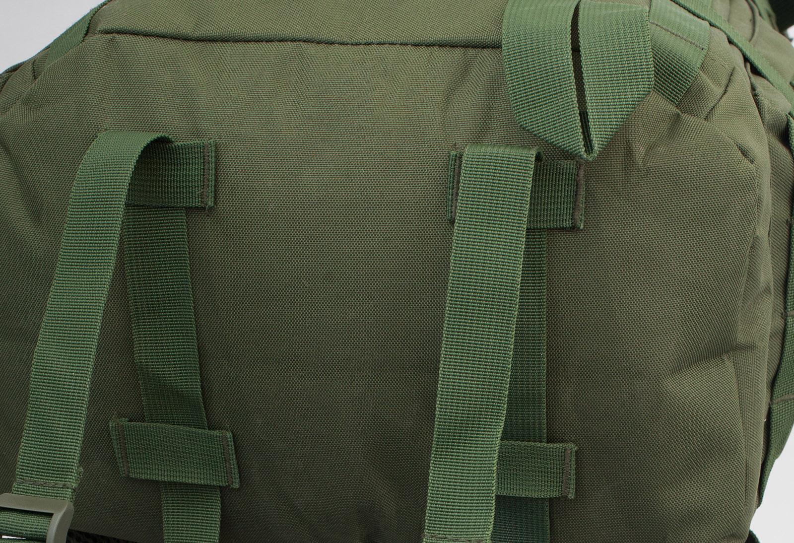 Функциональный военный рюкзак с нашивкой ФСО - купить в розницу